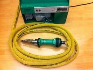 Gele Cobra beschermslang voor Dohle Micro