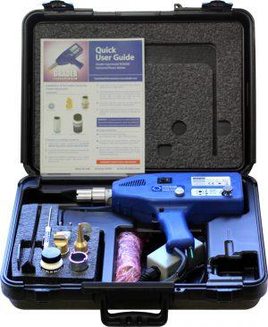 Drader Injectiweld W30000-240V kunststof lasapparaat met 2 lasmondstukken