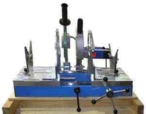 WIDOS 2500/315 spiegellasmachine d50-315mm met elektrische schaaf 230V