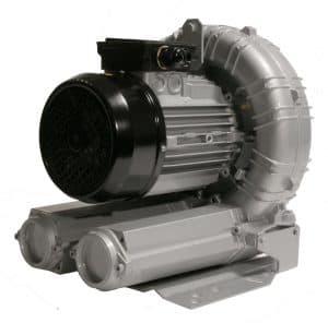 Hogedrukblower HD240 400V/2200W; IP55 voor Frequentie regelaar.