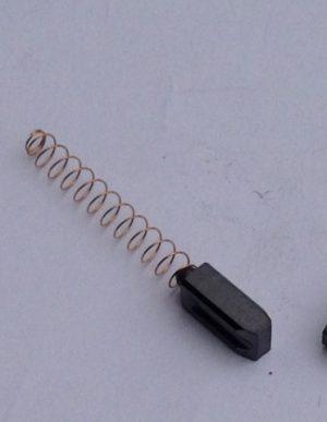 1 koolborstel met veer TriacS/PID/Electron  6