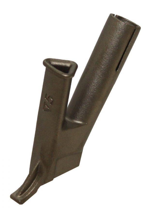 Snellasmondstuk driekant 5mm opschuifbaar op standaardmondstuk