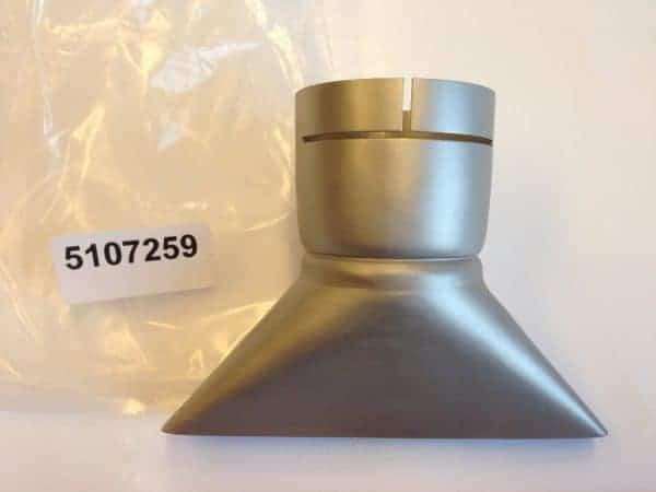 Breedsleufmondstuk 150x12 tbv L62 en Compact