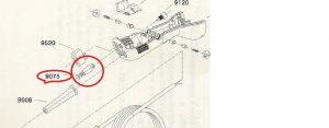 Potentiometer 2 pins  voor Forsthoff 100k