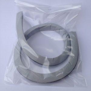 Afdichtrubber voor vacuümklok lang 700 x 220 mm