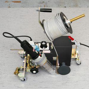 Forsthoff-F vloeren lasautomaat voor linoleum en PVC