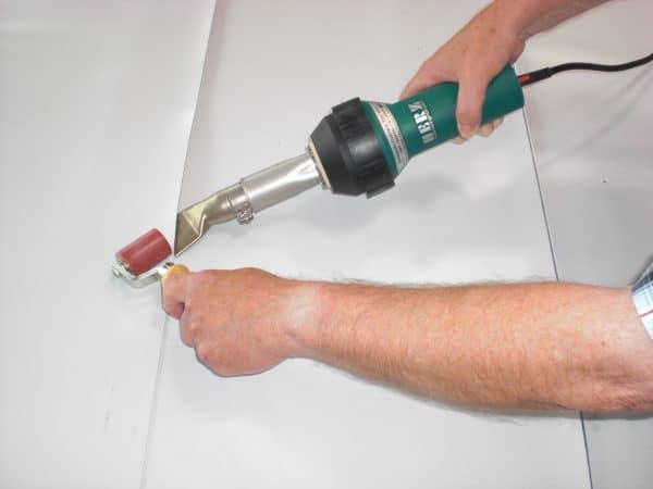 lasapparaat voor PVC zeildoek