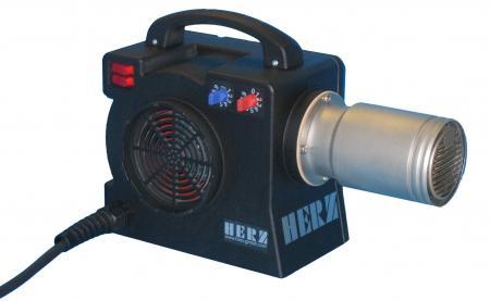 Compact luchtverhitter/blower