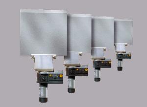 HGV151E Riexinger lasspiegel 150x150mm 230 V elektronisch geregeld
