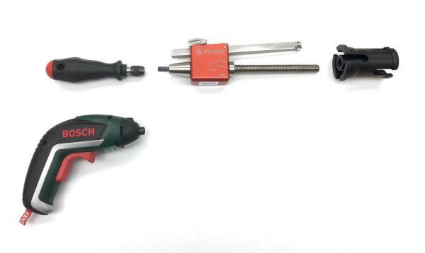 Frank PES 63  buizenschiller set D 32 t/m D 63 (SDR11) inclusief accutol