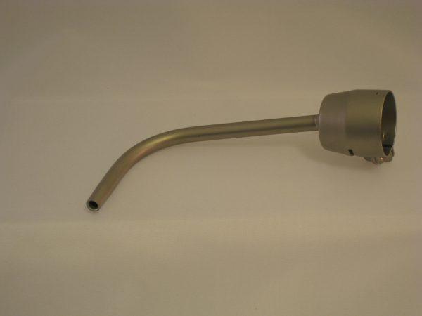Verlengd standaard mondstuk 5x150mm 90° gebogen Rion Triac