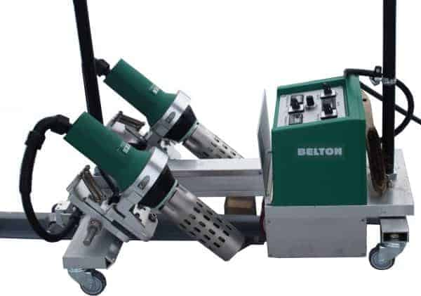 Belton P 2x20mm lasautomaat voor profielen 400V/6500W