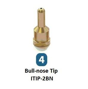 Drader Bull-nose tip