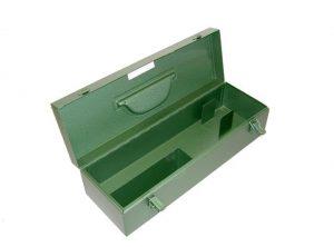 Stalen kist groen voor Rion