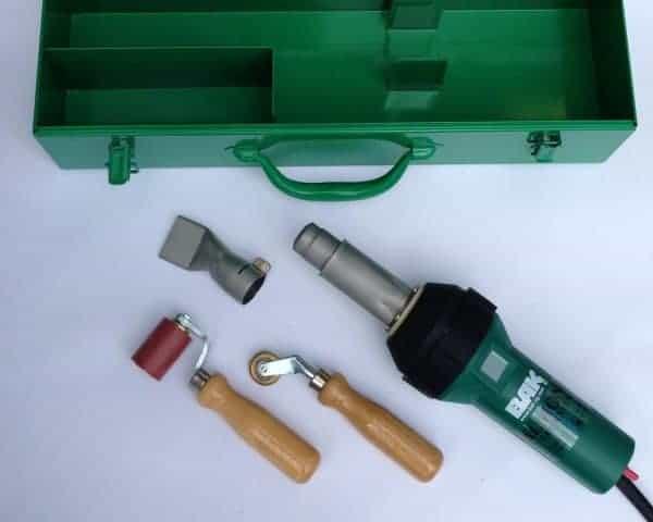 Lasset A: Bak Rion voor PVC zeildoek en dakbedekking lassen