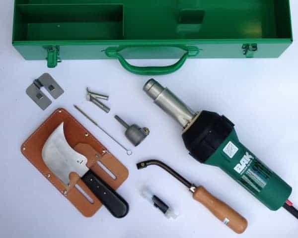 Lasset B+: BAK RION digitaal voor PVC en linoleum vloer lassen