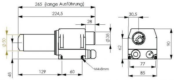 5101796; Luchtverhitter M50; 230V; 3700W (comp. LE3300)