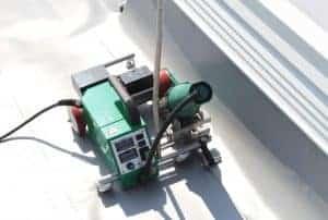RoofOn-Rand DIG. 40mm lasautomaat 230V/3400W. Last 8 cm uit de dakrand!