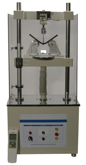 Demo Buig/trek/druk bank voor het testen van lassen volgens DVS2213