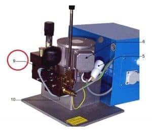 Hydraulisch stuurventiel W4600